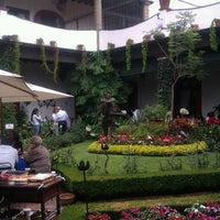 Photo taken at San Angel Inn by Roberto V. on 5/11/2013