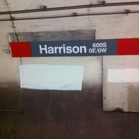 Photo taken at CTA - Harrison by Mary Kay H. on 1/27/2013