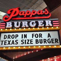 Photo taken at Pappas Burger by Aaron R. on 5/23/2013