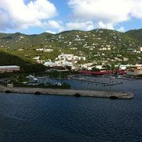 Photo taken at Port Of St. Thomas by Lan N. on 10/3/2012