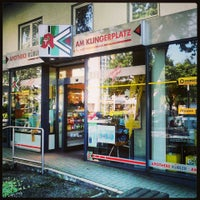 Photo taken at Apotheke am Klingerplatz by Steffen H. on 6/5/2013