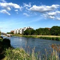 Photo taken at Mittellandkanal by Steffen H. on 6/15/2015