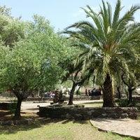 Photo taken at Parco Archeologico di Santa Cristina by Emanuele M. on 5/18/2013