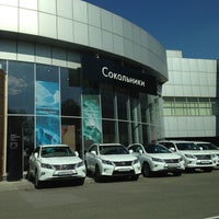 Photo taken at Lexus Сокольники by Dasha K. on 5/10/2013