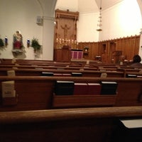 Photo taken at Trinity Episcopal Church by Kyle-Pierre N. on 12/16/2012