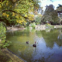 Photo taken at Parc Montsouris by Nadia B. on 10/21/2012