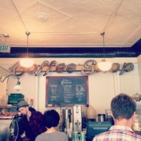 Photo taken at Cafe Pedlar by Anne A. on 9/1/2013