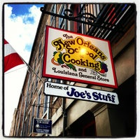 Photo taken at The New Orleans School of Cooking by John M. on 9/18/2013