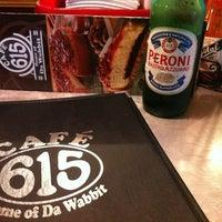 Photo taken at Cafe 615 (Da Wabbit) by superJennifer on 9/18/2013