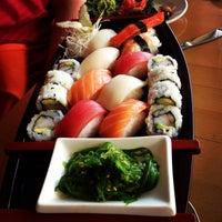 Photo taken at Cilantro Thai & Sushi by Sheena Z. on 8/15/2013