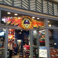 Photo taken at Hat World by Alan F. on 2/21/2013