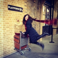 Photo taken at Platform 9¾ by Karli (. on 3/24/2013