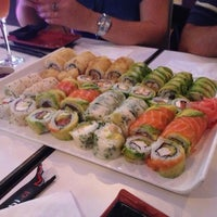 Photo taken at Niu Sushi by Diego E. on 2/2/2013