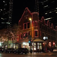 Photo taken at Sundance Square by Laurie H. on 11/25/2012