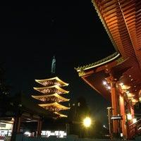 Photo taken at Senso-ji Temple by ayapoy on 5/24/2013