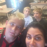 Photo taken at Dino's Wood Burning Pizza by Medea on 7/3/2014