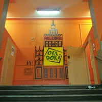 Photo taken at Hostel Oki Doki by Вероника Т. on 9/2/2015