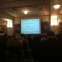 Photo taken at Associacao Comercial de Lisboa by Daniel B. on 11/16/2012
