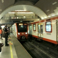 Photo taken at Metro Manquehue by Anibal T. on 11/20/2012