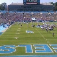 Photo taken at Kenan Memorial Stadium by Matthew H. on 9/22/2012