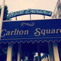 Photo taken at Carlton Square Hotel by Sebastian L. on 7/26/2013