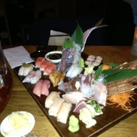 Photo taken at Blue Ribbon Sushi Bar & Grill by Thomas R. on 4/16/2013