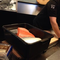 Photo taken at Bento Box Sushi Bar & Asian Kitchen by Kristin W. on 4/10/2014