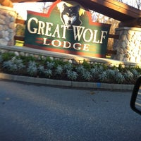 Photo taken at Great Wolf Lodge by Kim F. on 3/21/2013