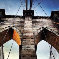 Photo taken at Brooklyn Bridge by Kody . on 6/22/2013