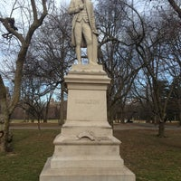 Photo taken at Alexander Hamilton Statue by Timothy L. on 3/15/2013