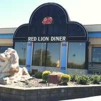 Photo taken at Red Lion Diner by Freeflight A. on 5/4/2013