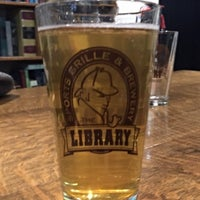 Photo taken at The Library Sports Grill and Brewery by Richard H. on 11/8/2015