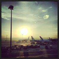Photo taken at Cathay Pacific First and Business Class Lounge by Ryan B. on 12/13/2012