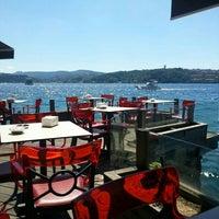 Photo taken at İskele Cafe & İzmir Lokmacısı by Kaan G. on 6/22/2013