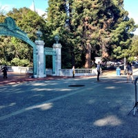 Photo taken at Sather Gate by Sean R. on 5/8/2016