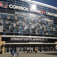 Photo taken at CONSOL Energy Center by Tom D. on 5/1/2013
