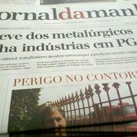 Photo taken at Jornal da Manhã - JMNews by Bhya Z. on 12/6/2012
