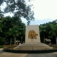 Photo taken at Alun Alun Nganjuk by Sugiharto S. on 12/4/2016