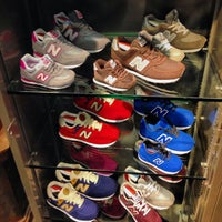 Photo taken at New Balance NYC Flagship Store by Luiz C. on 9/26/2013