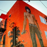 Photo taken at Jim Morrison Mural by Ken R. on 8/13/2013