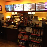 Photo taken at Dunkin' Donuts by Abby A. on 11/6/2013