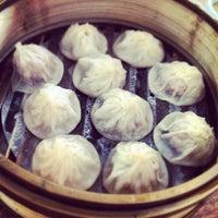 Photo taken at Shanghai Dumpling King by Wes Y. on 10/14/2012