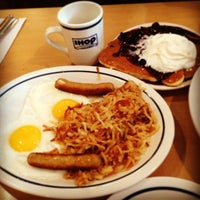 Photo taken at IHOP by makia m. on 12/24/2012