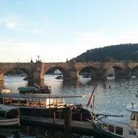 Photo taken at Charles Bridge by Татьяна П. on 7/19/2013