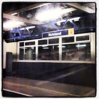Photo taken at Richmond Railway Station (RMD) by Nuno O. on 4/9/2013