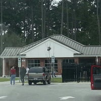 Photo taken at Camp Lejeune Visitor Center by Cassondra J. on 10/9/2012