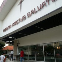 Photo taken at Gereja Kristus Salvator by Lilian B. on 10/5/2013