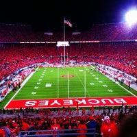 Photo taken at Ohio Stadium by Courtney N. on 4/24/2013