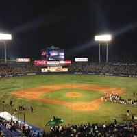 Photo taken at Meiji Jingu Stadium by Katsura H. on 4/28/2013