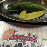 Photo taken at Chompie's Deli by Casper H. on 2/14/2013